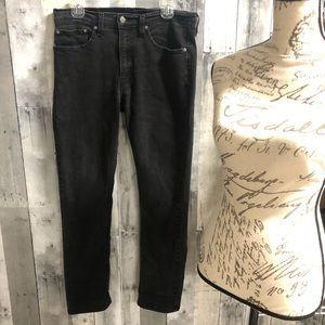 Levi's 511 black jeans size 34 x 32 vintage look
